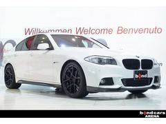 BMW528i Mスポーツ ワンオーナー サンルーフ 20インチ