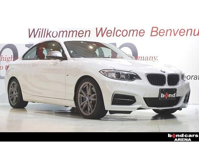 BMW M235iクーペ レッドレザー コンフォートアクセス