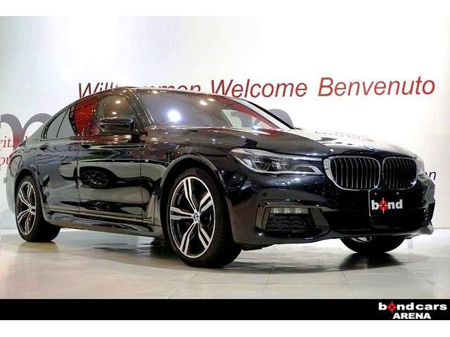 BMW 740i Mスポーツ スライディングルーフ ブラックレザー