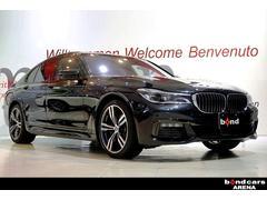 BMW740i Mスポーツ スライディングルーフ ブラックレザー