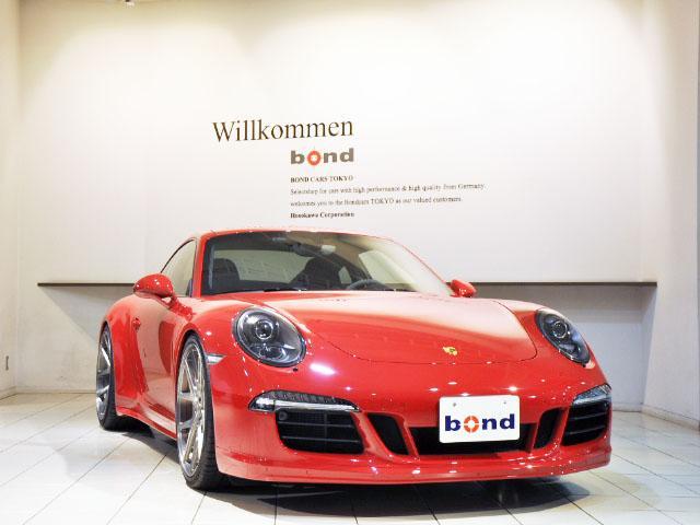 ポルシェ 911カレラ4GTS AGIO21インチAW KW車高調