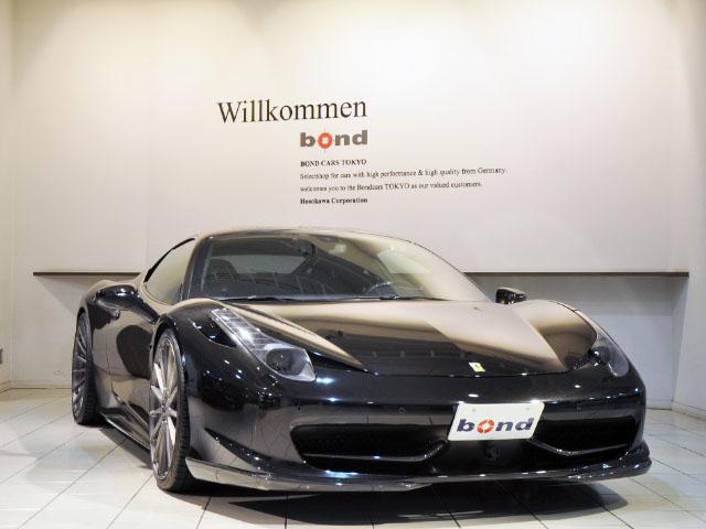 458イタリア(フェラーリ) ベースグレード 中古車画像