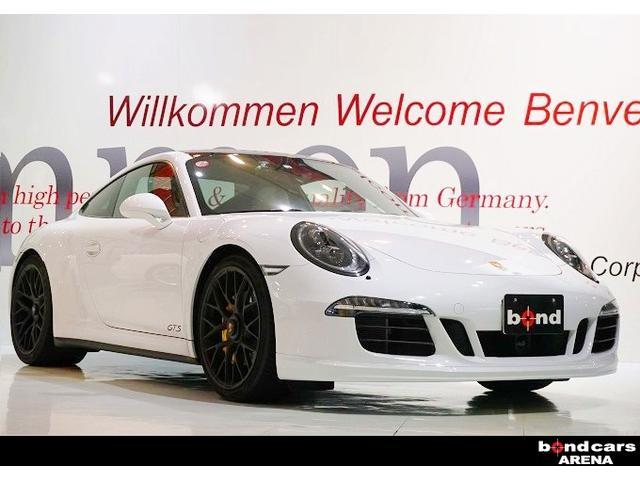 ポルシェ 911カレラ4GTS スポーツエキゾースト レザーインテリア