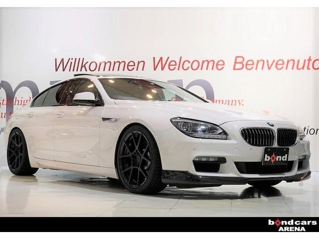 BMW 6シリーズ 640iグランクーペ Mスポーツパッケージ 3Dデザインエキゾーストシステム、KW車高調、rotifrom20インチAW、3Dデザインリヤカーボンディフューザー