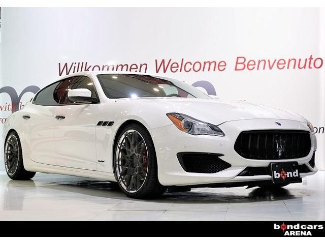 マセラティ S グランスポーツ 電動サンルーフ カーボンステアリング