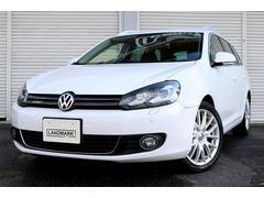VW ゴルフヴァリアント2.0TSI スポーツライン 禁煙車 革 ナビ タイヤ新品