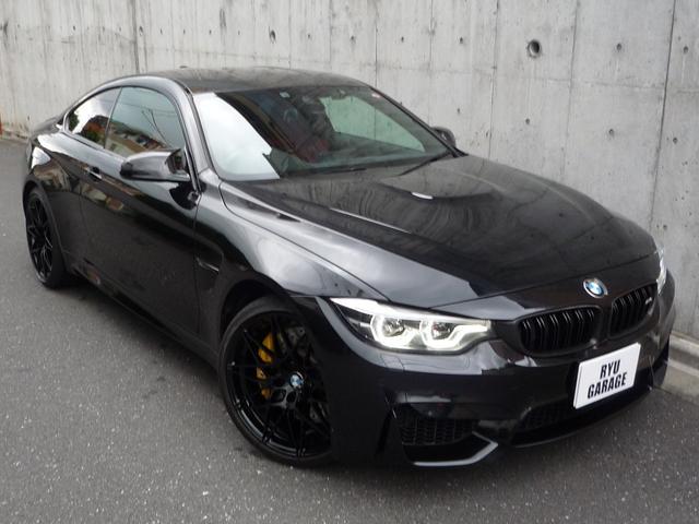 BMW M4クーペ コンペティション ワンオーナー 赤革 カーボン