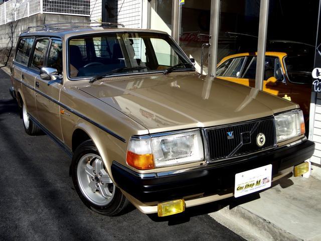 ボルボ 240GLワゴン スモール窓 純正カラー OLD帝人カスタム