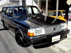 ボルボ240GLワゴン マッドブラックコロナ メッキ外装 後期型