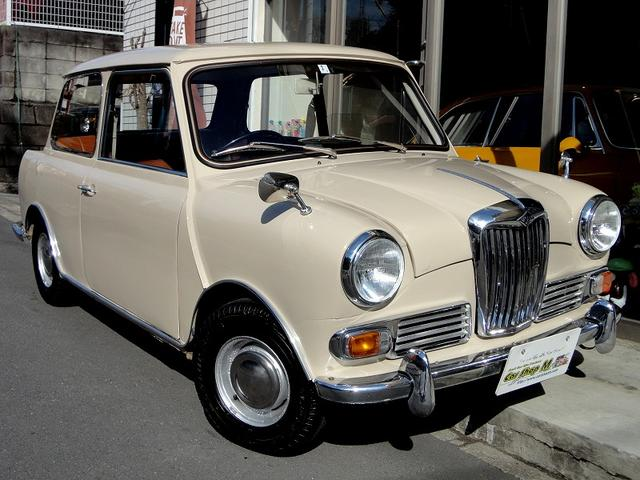 ライレー MK-III 1967年モデル/アリアンカベージュカラー/フロントブレーキディスク化/4速MT/オリジナルブラウンレザーシート/ウッドパネル/オールクリアーガラス/純正10inホイール/ハイドロ良好/検査取得済み/