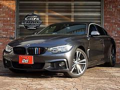 BMW420iグランクーペ イン スタイル 専用アルミ 専用シート