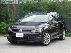 VW ゴルフヴァリアントTSI コンフォートライン コネクト ワンオーナー ACC