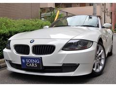 BMW Z4ロードスター2.5i  黒革シート 17AW 禁煙車