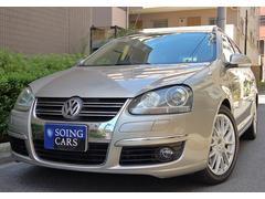 VW ゴルフヴァリアント2.0TSI スポーツライン ベージュ革