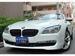 BMW640i プラスPKG ブラウン革 19AW 禁煙車