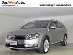 VW パサートオールトラックTSI4MOTION 黒レザー 社外ナビ 認定中古車