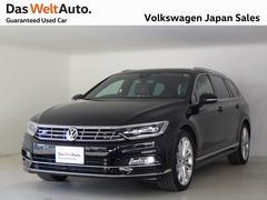 VW パサートヴァリアントTSI Rライン 黒レザー 19AW 純正ナビ 認定中古車