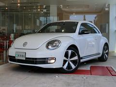 VW ザ・ビートル限定車2.0Lターボエクスクルーシブ 本革 ナビ 1オーナー