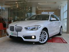 BMW118i ファッショニスタ 白本革 純正HDDナビ Bカメ