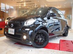 スマートフォーフォーパノラミックルーフ ターボ 新車保証付 ブラック16インチ