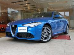 アルファロメオ ジュリアヴェローチェ 左ハンドル 新車保証