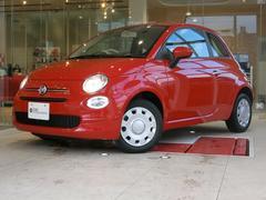 フィアット 500ツインエア ポップ 現行カープレイオーディオ 新車保証