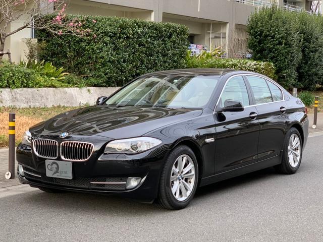 BMW 5シリーズ 523i ハイラインパッケージ 1オーナー 禁煙車 地下車庫保管 ベージュレザー シートヒーター HDDナビTV バックカメラ HID