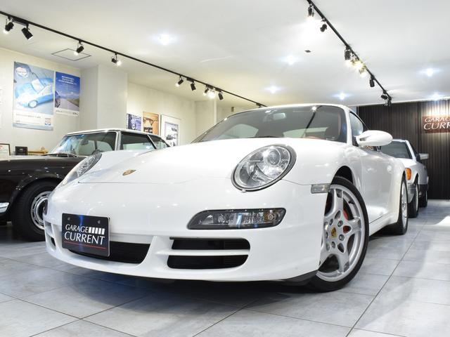ポルシェ 911カレラS オール革 スポエグ OPベルト テラコッタ