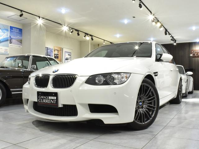 BMW M3 セダン 6速MT 右ハンドル ディーラー車 黒革