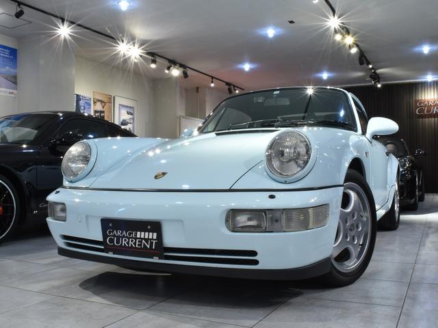ポルシェ 911カレラ2 コッパフローリオ 当社管理車両 最終モデル 整備記録簿17枚 サンルーフ ディーラー車 左ハンドル