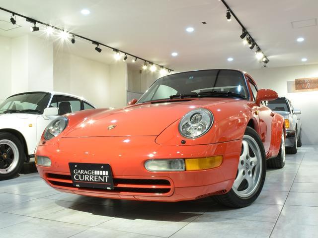 ポルシェ 911 911カレラ 実走行3.2万キロ 整備記録簿11枚 ディーラー車 ミツワもの(ステッカーあり) サンルーフ ガーズレッド ブラックレザー ティプトロニック フルオリジナル 修復歴無し 取説 記録簿 スペアキー