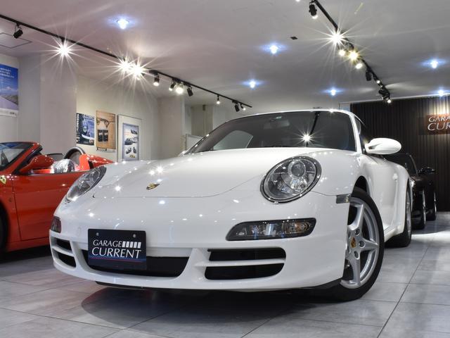 ポルシェ 911 911カレラ 2008年モデル 過去販売車両 整備記録簿 6速マニュアル スポーツクロノパッケージ シートヒーター キャララホワイト バックカメラ