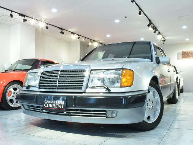 メルセデス・ベンツ 500E 過去販売車両 ポルシェライン 整備記録簿23枚 ユーザー様買取車両 タイヤ&デスビ交換済み ディーラー車 取説 1992年製 業販可能