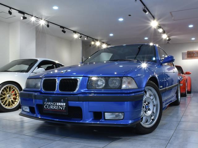BMW M3 M3クーペ ワンオーナー ディーラー車 後期M3C エストリルブルー 6速マニュアル 整備記録簿 ユーザー様買取車両 フルオリジナル 純正スポーツシート 純正ステアリング