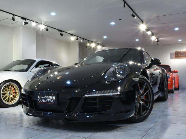 911(ポルシェ) 911カレラ 2015年モデル カップエアロキット スポクロ スポエグ ガラスサンルーフ ダイナミックエンジンマウント イエローメーター PDLS(インナーブラック) スポーツデザインステアリング 過去販売車両 中古車画像