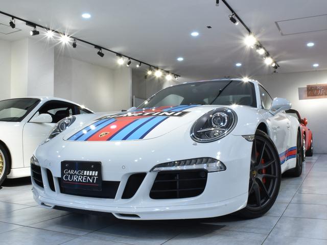 ポルシェ 911 911カレラS マルティーニレーシングエディション 日本限定15台 世界80台限定 ワンオーナー カップエアロキット スポクロ スポエグ シートヒーター クルコン BOSE 専用テスター診断済み 新車時保証書