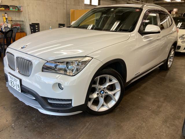 BMW X1 sDrive 20i xライン 純正ナビ&バックカメラ