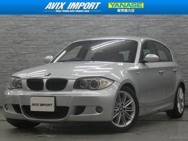BMW 1シリーズ 130i MSP 禁煙 黒革 シートヒーター 社外ナビ TV