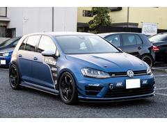 VW ゴルフR当社デモカー 420ps フルラッピング エアロ ナビ&TV