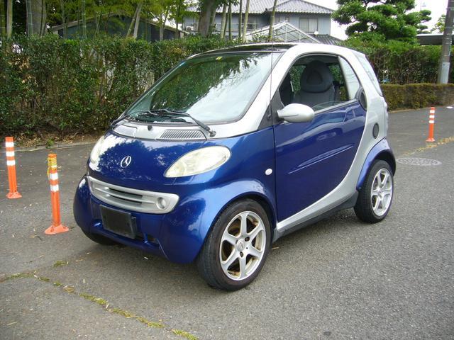 スマート スマートクーペ 左ハンドル 軽自動車登録済み リア軽規格フェンダー ETC