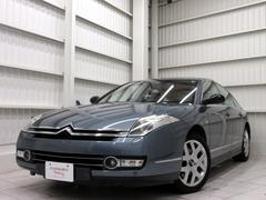 シトロエン C6エクスクルーシブ V6黒革HDDナビ禁煙クルコン