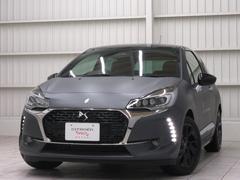 シトロエン DS3ダークサイド デモカー限定車キセノン新車保証フルレザー