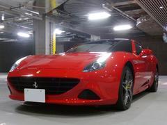 フェラーリ カリフォルニアTベースグレードF1DCTカーボンステア鍛造ホイールETCナビ