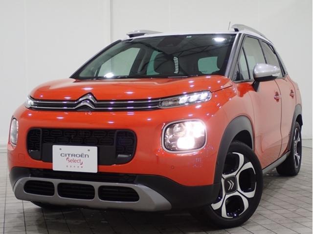 シトロエン C3 エアクロス シャインパッケージ 新車保証継承Carplay障害物センサBカメAW