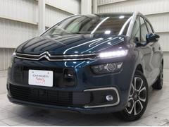 グランドC4 スペースツアラーシャイン ブルーHDi 新車保証継承CarPlayGルーフBカメACC