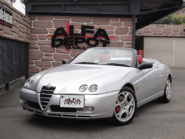 アルファロメオ 3.2 V6 24V 赤幌 タイベル交換済