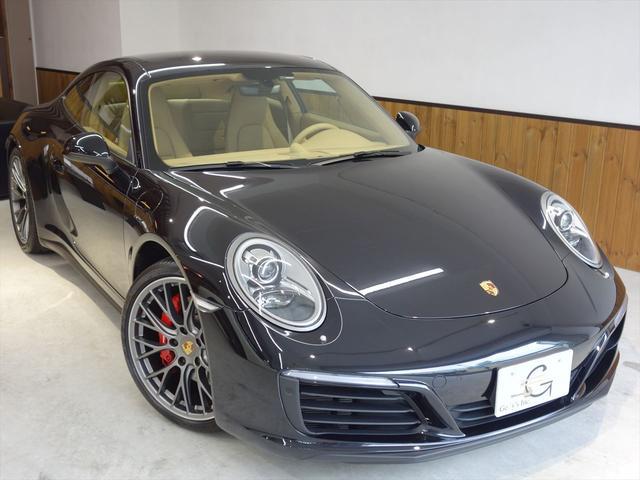ポルシェ 911カレラ4S 左ハンドル ワンオーナー ディーラー保証付