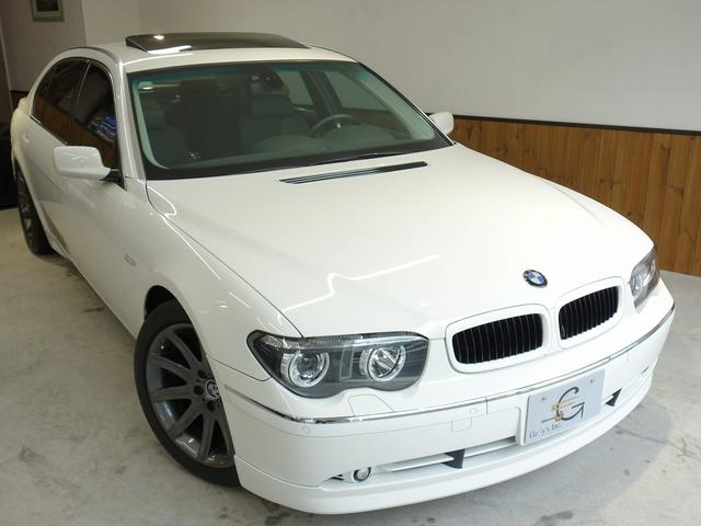 BMW 745Li コンフォート/シアターPKG カスタム満載 左H