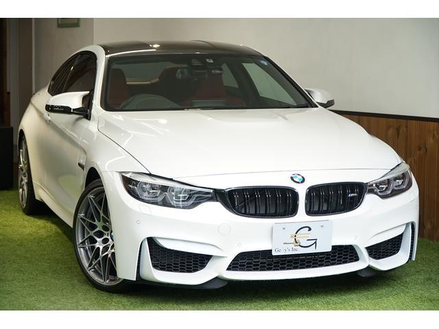 BMW M4クーペ コンペティション 2オーナー 右ハンドル 保証付