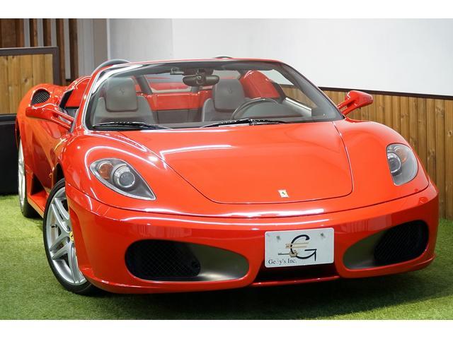 フェラーリ F1 HDDナビTV カーボンインテリア 正規ディーラー車